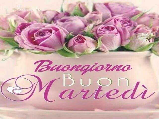 Buon martedì con fiori 2