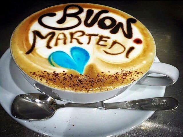 Buon martedì con caffè 1