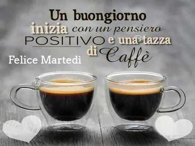 buon martedì con caffè 2