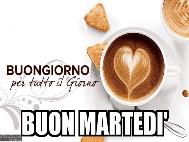 Buon martedì con caffè 5