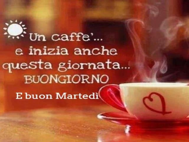 buon martedì con caffè 6