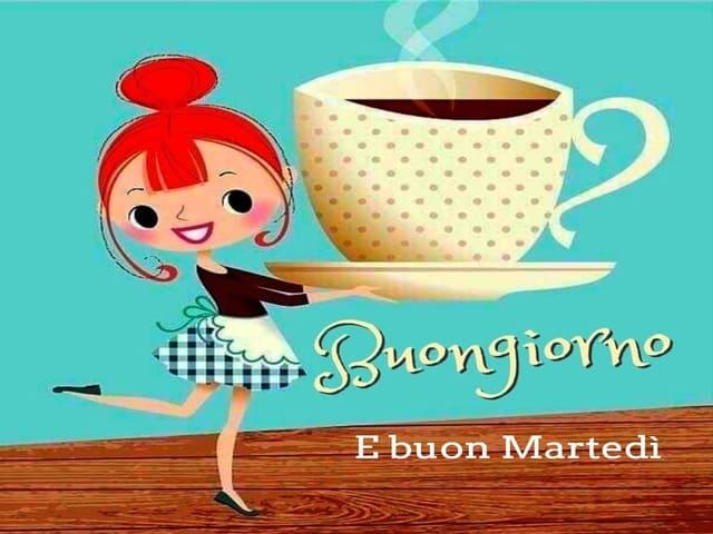 buon martedì con caffè 7