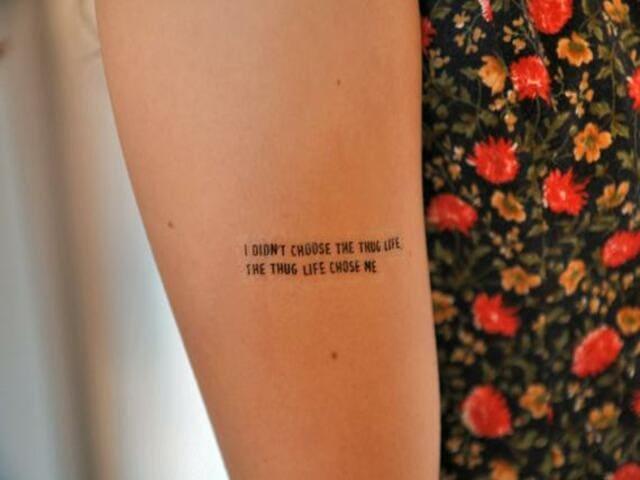Frasi tatuaggi inglese sulla vita 3