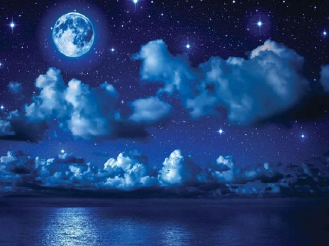 immagine cielo stellato