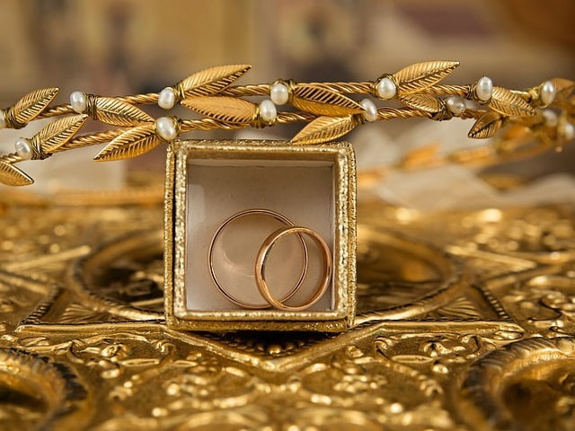 anelli nozze d'oro