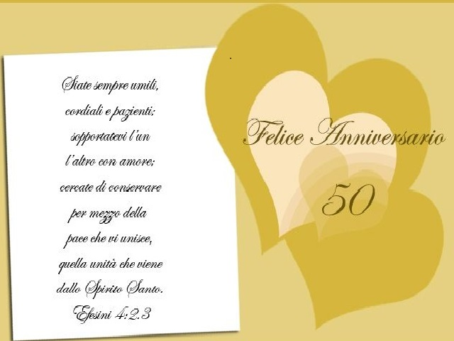 Frasi Per Anniversario 50 Anni Di Matrimonio.50 Anni Di Matrimonio 75 Frasi Immagini E Video Da Dedicare