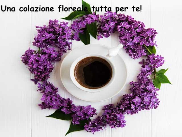 colazione con fiori