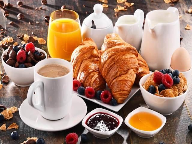 foto di colazione