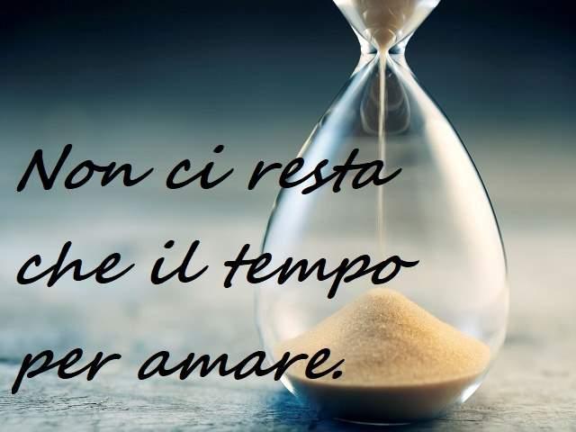 frasi amore sul tempo