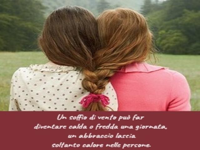 frasi sugli abbracci degli amici 1
