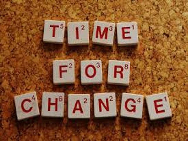 frasi sul cambiamento in inglese