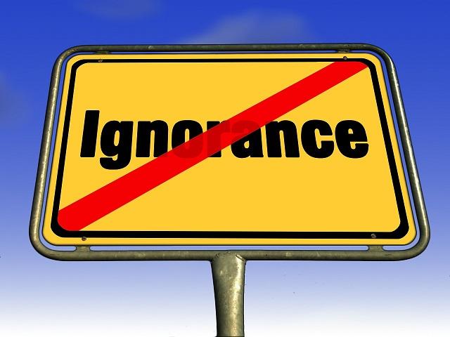 gli ignoranti