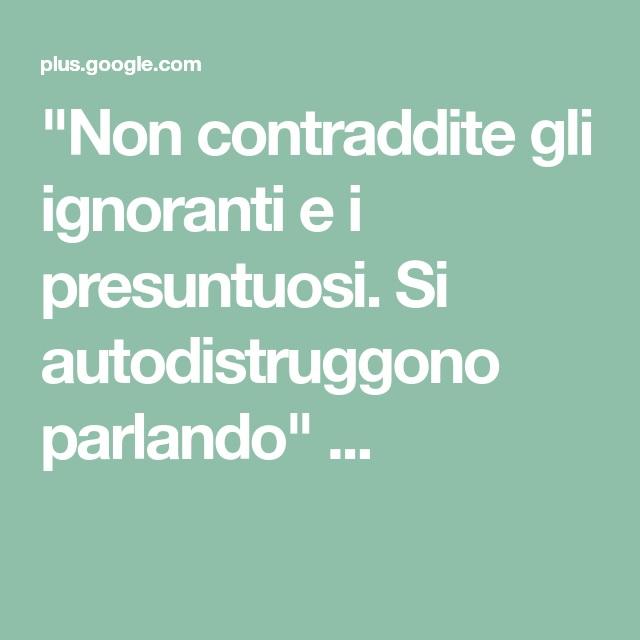 ignorante