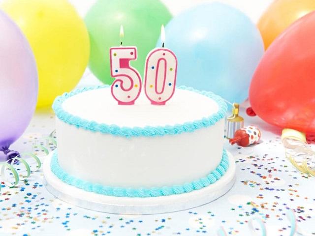 immagini auguri compleanno 50 anni