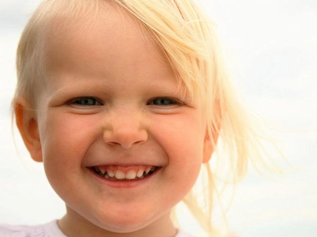 immagini sorrisi bimbi