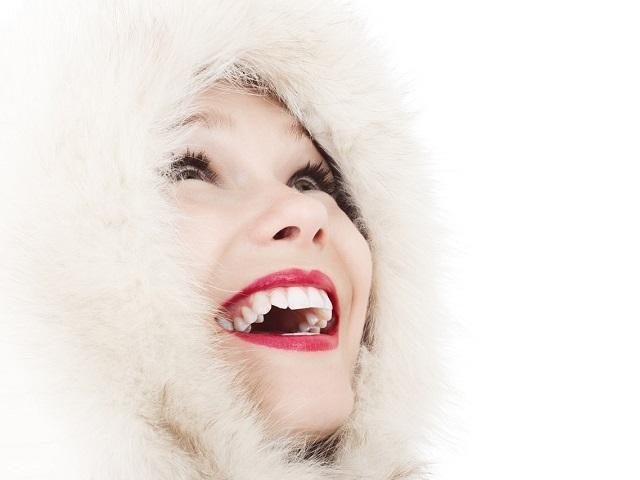 immagini sorriso di donna
