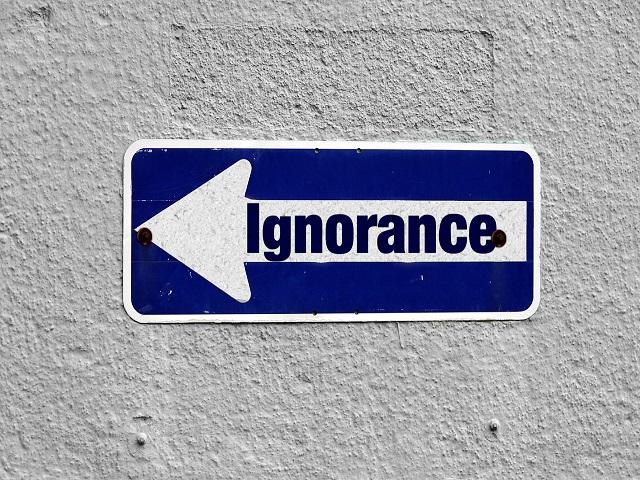 l'ignorante