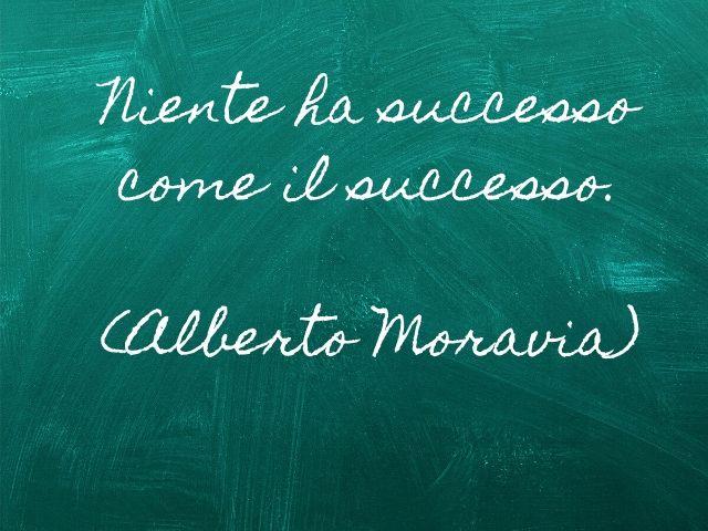 la strada per il successo