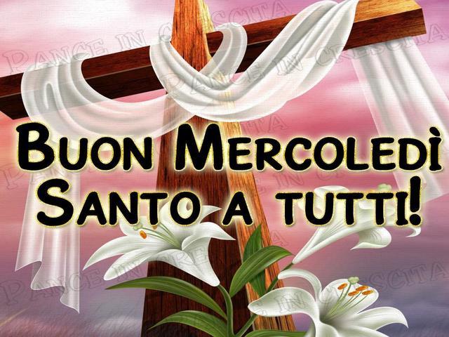 mercoledì santo