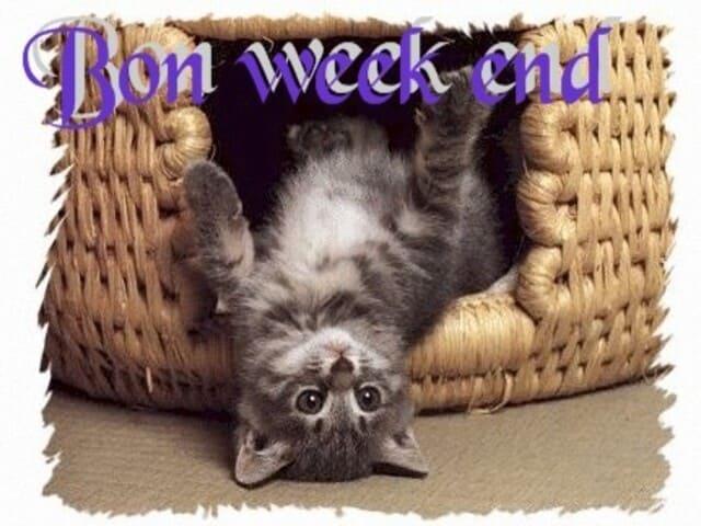 buon fine settimana in francese 5