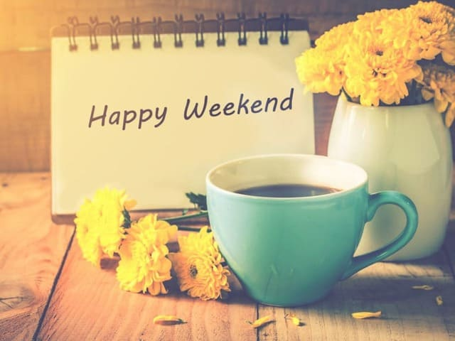 Buon fine settimana in inglese 4