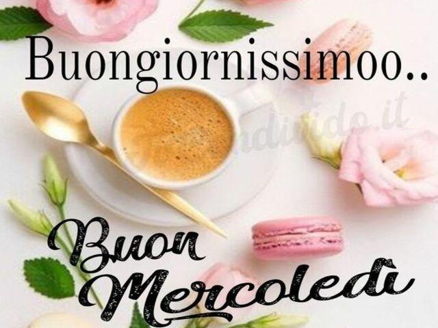 Buongiorno buon mercoledì