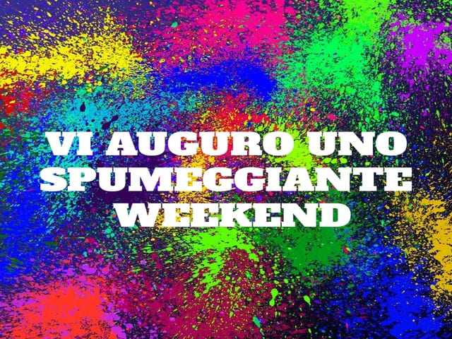 Immagini di buon weekend divertenti 1