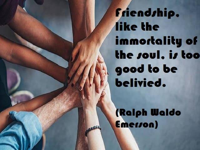 amicizia frasi in inglese