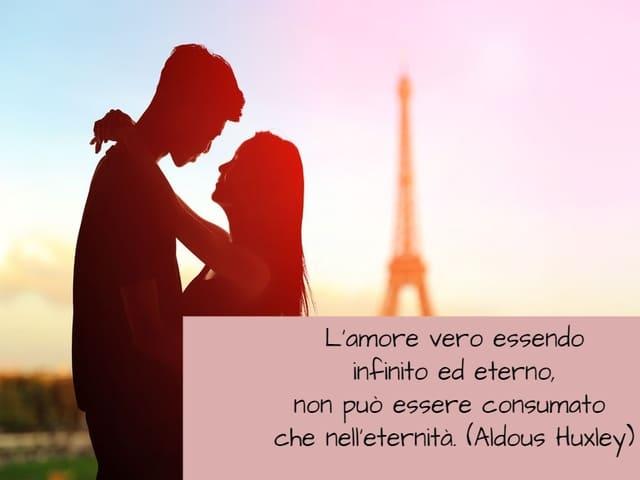 amore infinito frasi