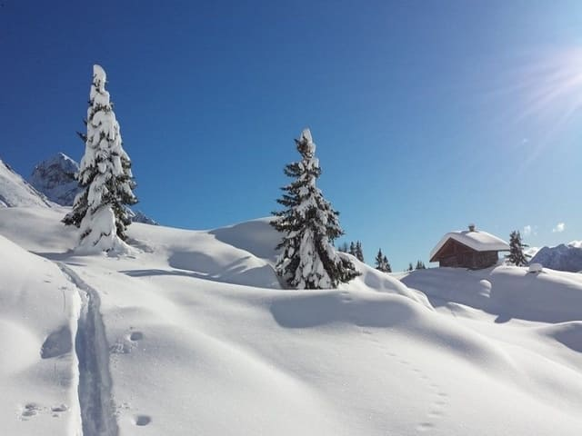 amore per la montagna