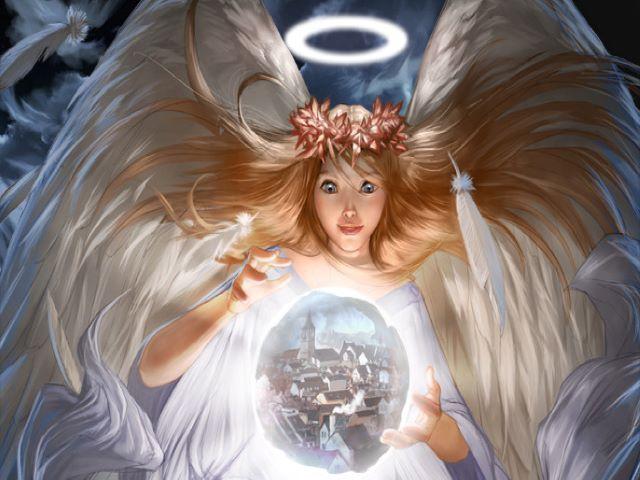 angeli in cielo frasi