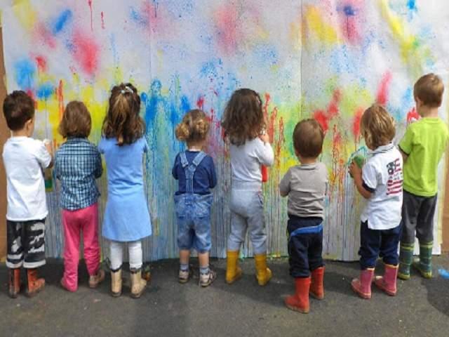 arte e bambini frasi