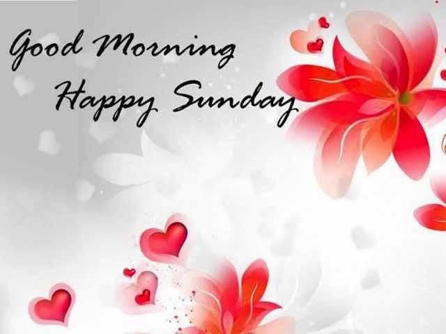 buona domenica inglese