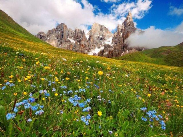 estate in montagna immagini