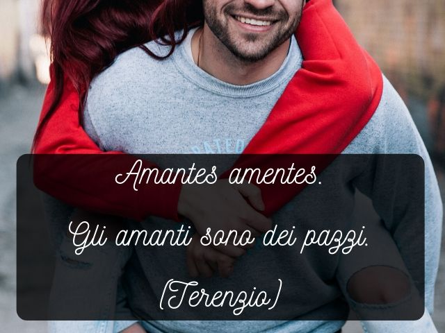 frase in latino sull'amore