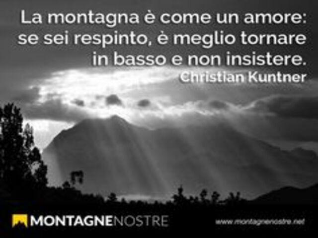 frasi amore montagna