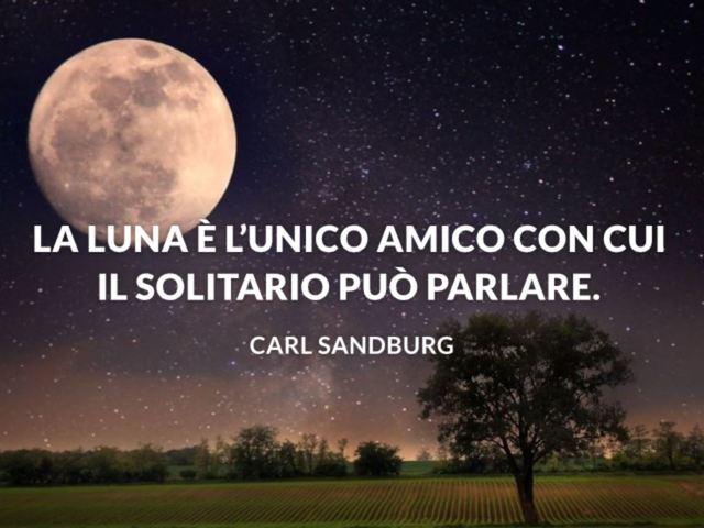 frasi belle luna