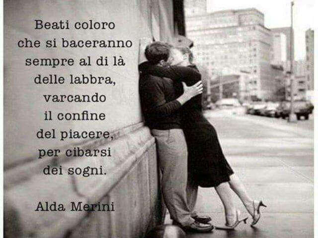 frasi belle sul bacio