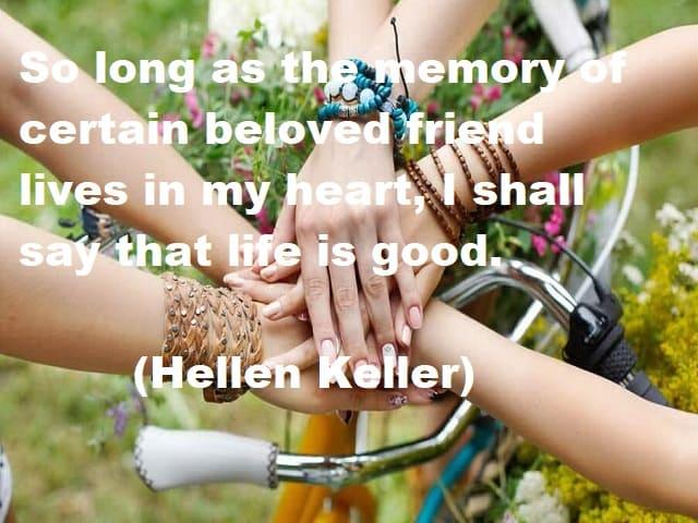 frasi d'amicizia in inglese brevi