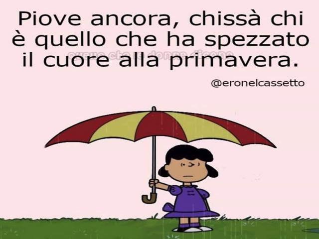 frasi d'amore sulla pioggia