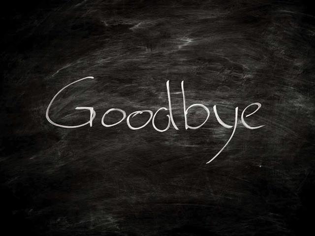 frasi di addio