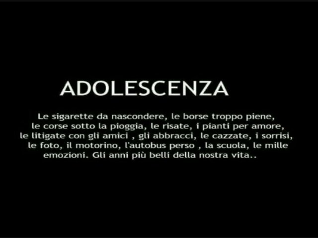 frasi di adolescenza