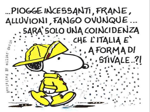 frasi ironiche sulla pioggia