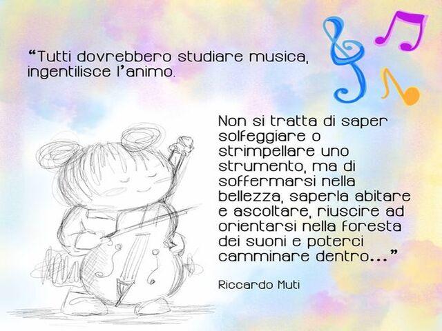 frasi musica per bambini
