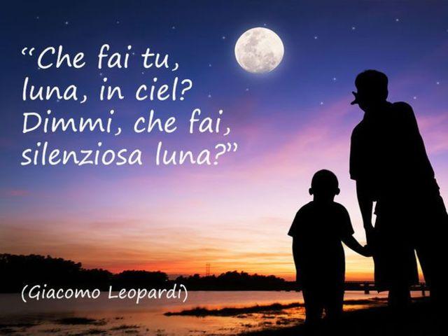frasi poetiche luna