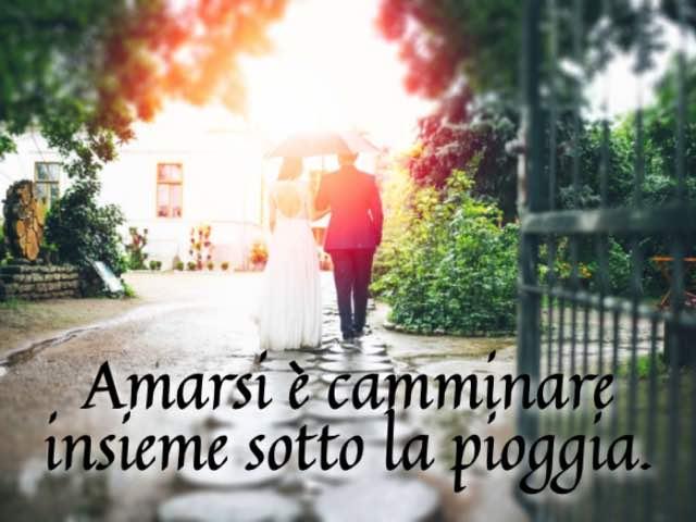 frasi romantiche sulla pioggia