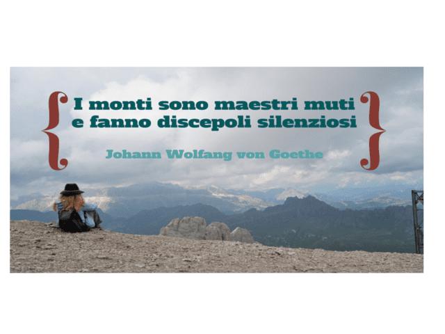 frasi sulla montagna