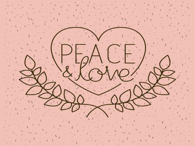 immagini di pace e amore
