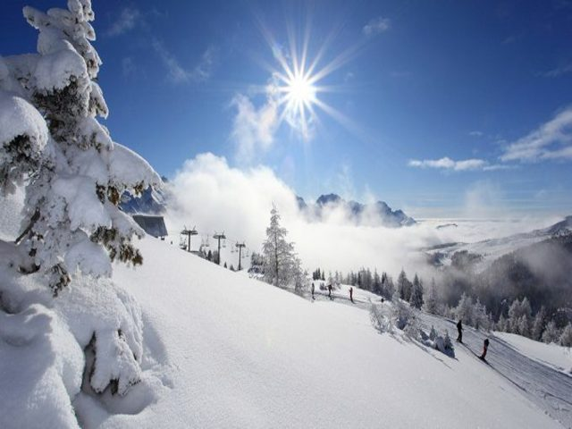 immagini montagna neve