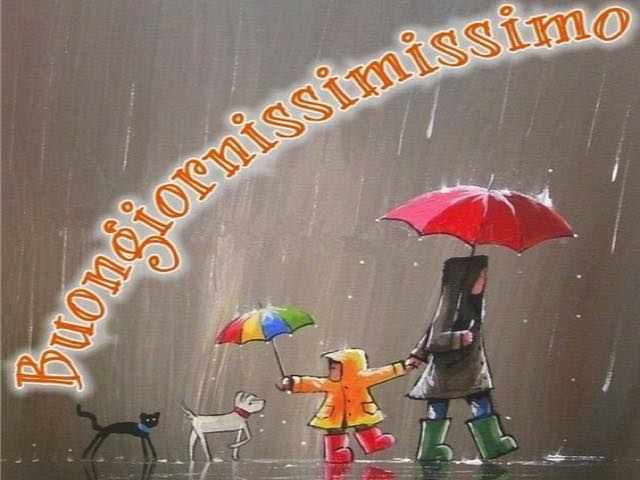 immagini sotto la pioggia